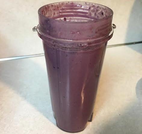 Cherry Protein Shake